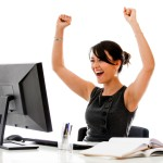 victory person computer